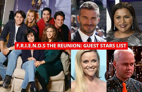 HBO Max announced that the long-awaited unscripted special titled 'Friends: The Reunion' is set to air on the streaming service on May 27. Check out the list of guest stars who will be taking part in this epic reunion.