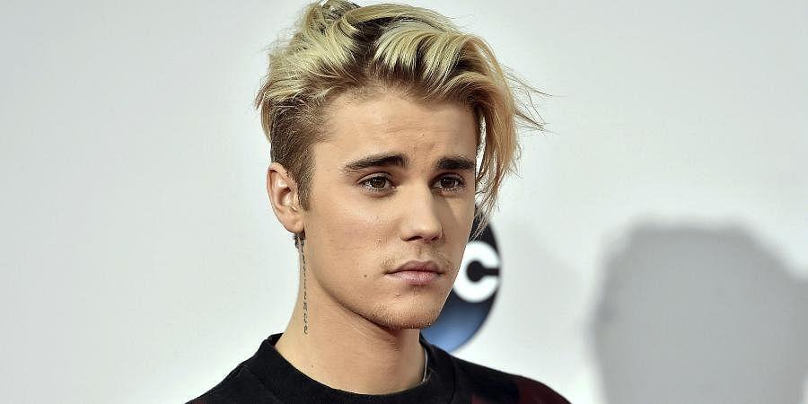 Canadian singer Justin Bieber