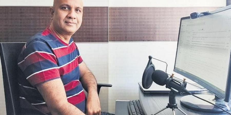 Naveen Samala and Venkata Sudhakar Nagandla, two IT professionals, are the hosts of 'The Guiding Voice' podcast series.