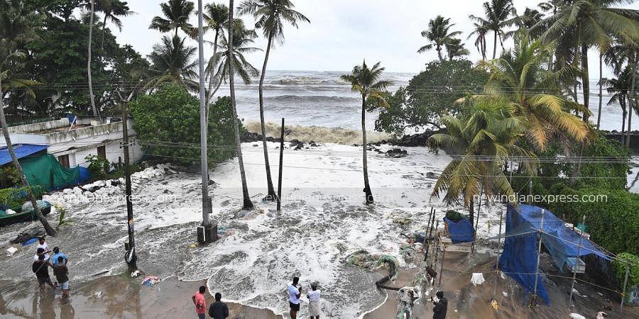 Kerala rain, Cyclone Tauktae