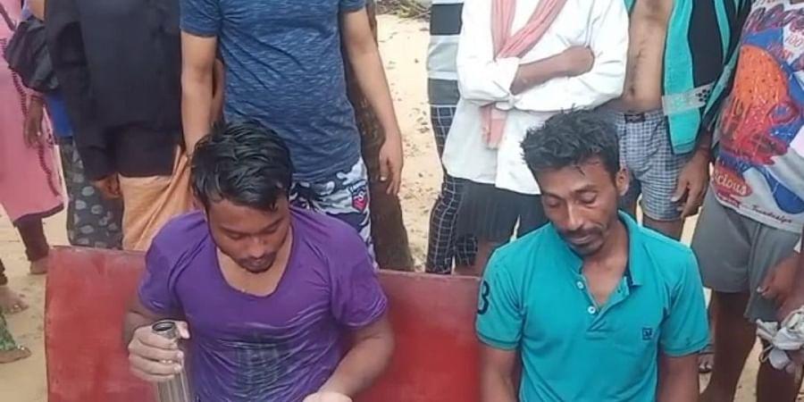Muneer Mullah ages 34, and Karibul Sheik aged 24, from Kolkata