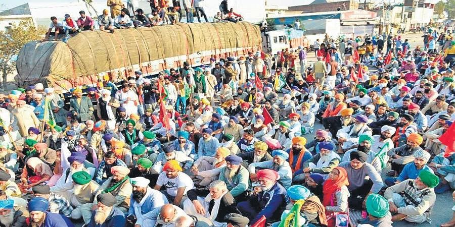 """A large number of farmers reached Delhi's borders on November 26 after facing water cannons and police barriers as part of their """"Delhi Chalo"""" march against the Centre's farm laws."""