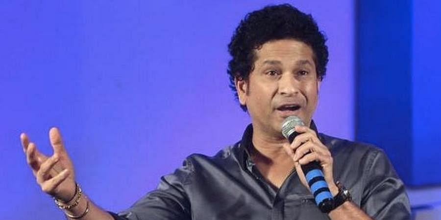Indian batting legend Sachin Tendulkar