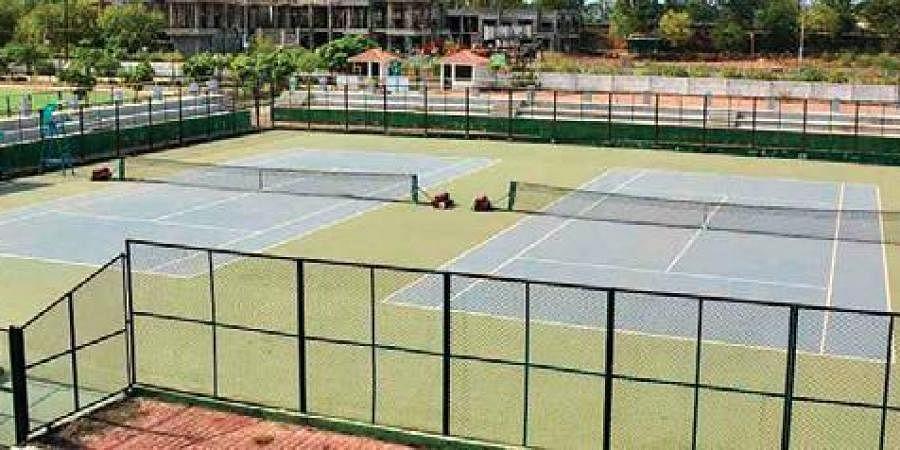 Tennis court, Rajnandgaon