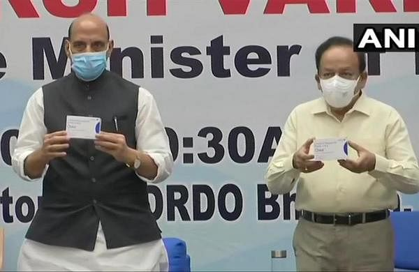 Rajnath Singh, Harsh Vardhan release first batch of DRDO's anti-COVID drug 2-DG