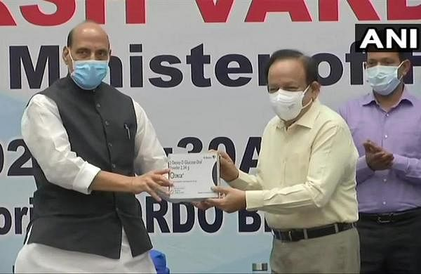 DRDO's anti-COVID drug 2-DG to reduce recovery time, oxygen dependency: Union Health Minister Harsh Vardhan