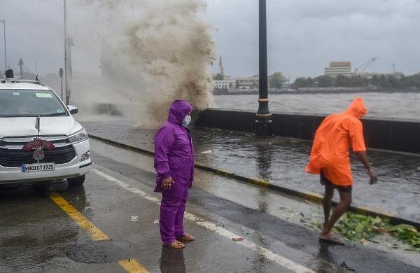 Cyclone Tauktae: Rain and strong winds lash Mumbai; local train services hit