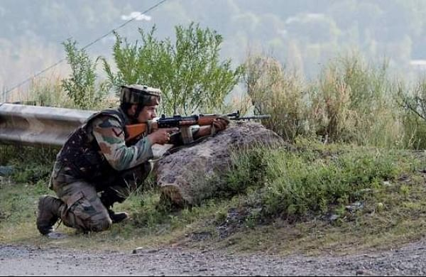 Two terrorists killed in encounter with security forces in Jammu and Kashmir