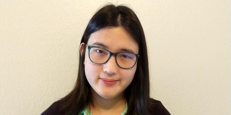 This photo provided by Lisa Danz shows Sophie Zhang. Zhang worked as a low-level Facebook data scientist nearly three years before was she fired in the fall of 2020.