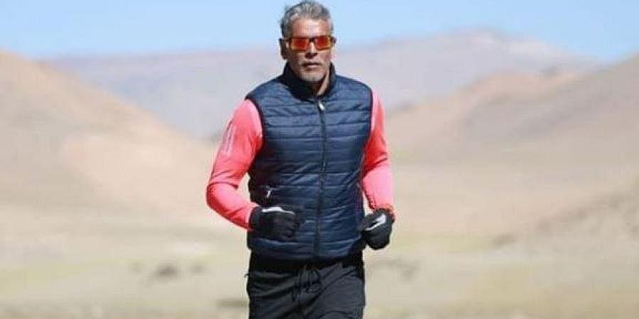 Actor Milind Soman. (Photo courtesy: Twitter@milindrunning)