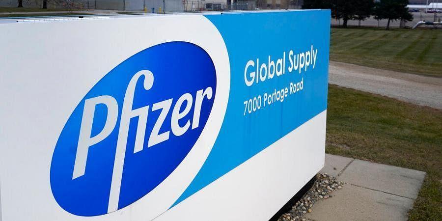 Global pharma major Pfizer