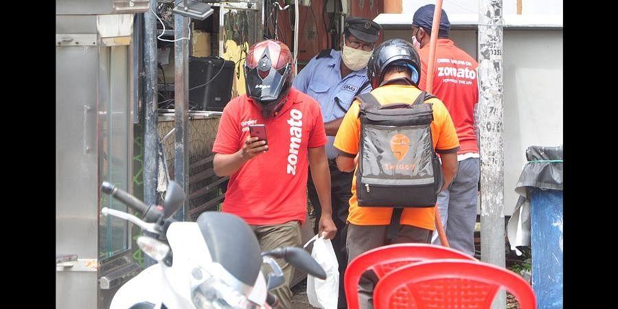 Triple lockdown affects food business in Capital
