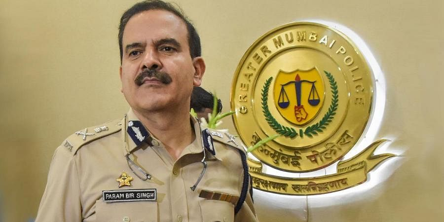 Mumbai Police chief Param Bir Singh. (File   PTI)