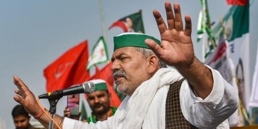 BKU leader Rakesh Tikait