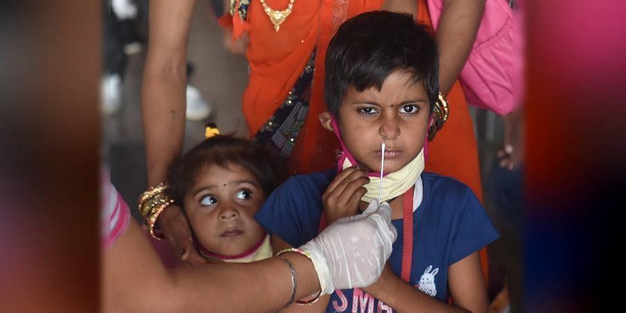 Children covid testing