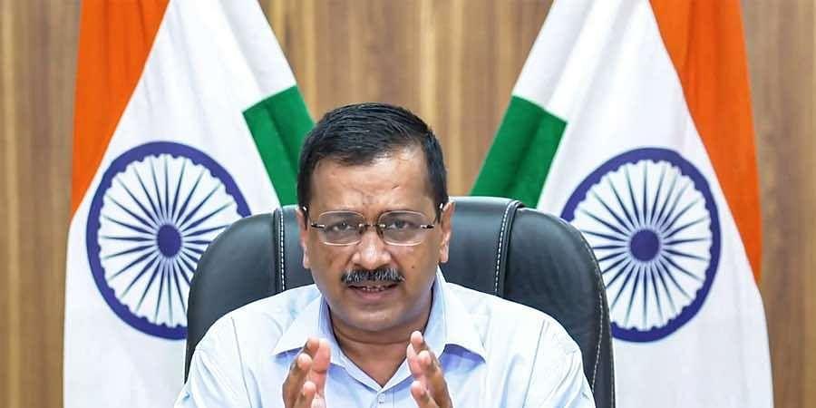 Delhi Chief Minister Arvind Kejriwal addresses the media virtually on gradual unlocking of COVID-induced lockdown