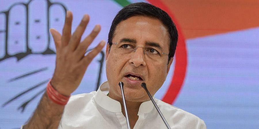 Senior Congress leader Randeep Singh Surjewala