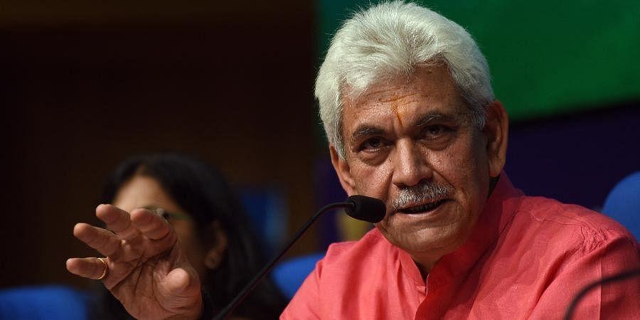 Jammu and Kashmir Lieutenant Governor Manoj Sinha