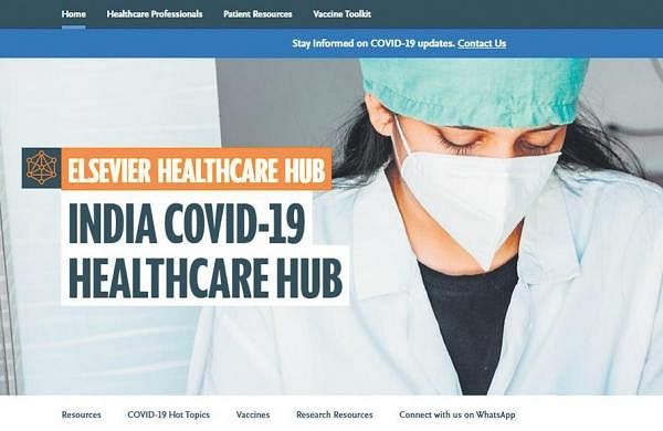 India COVID-19 Healthcare Hub curbs spread ofmisinformation, aids medical experts- The New Indian Express