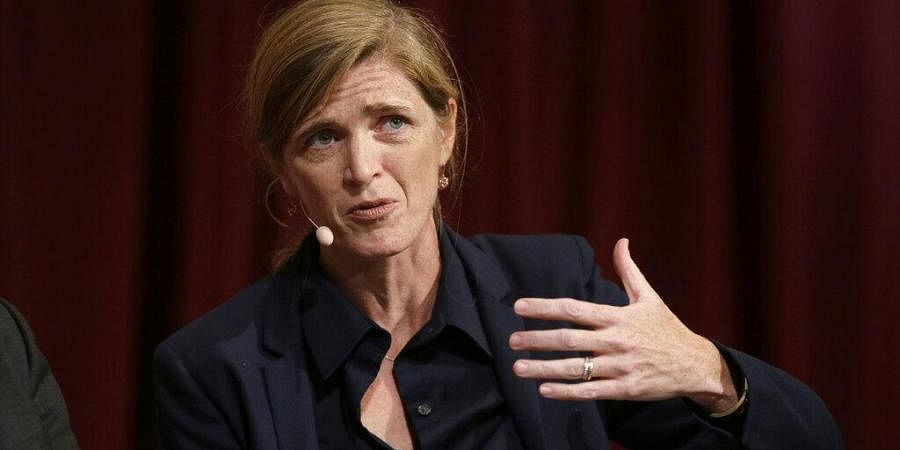 Newly-appointed USAID Administrator Samantha Power