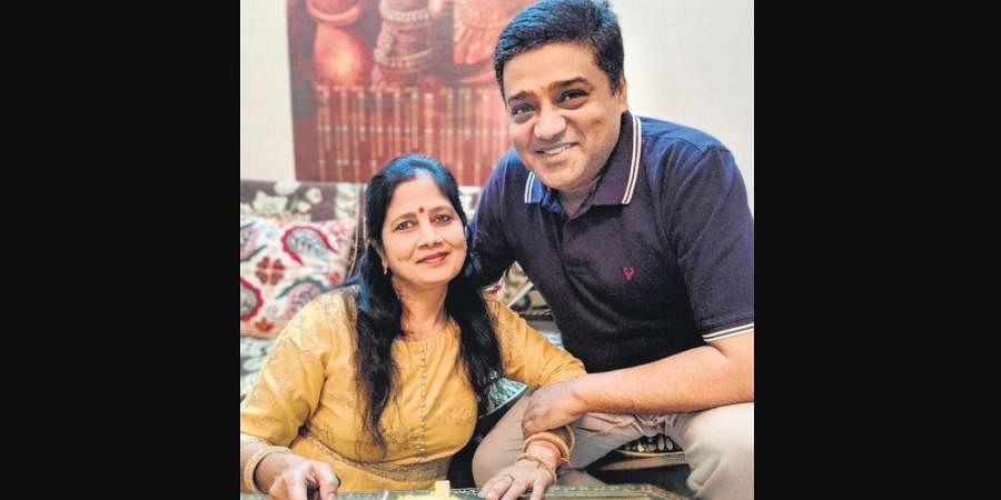 Coincidently, Mukul Gupta came out of his 17-day quarantine on wife Sumita's birthday.