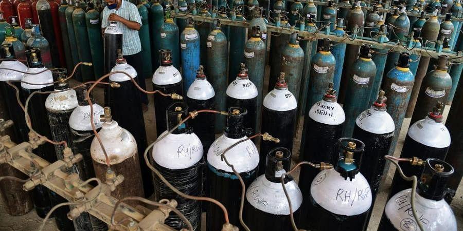Oxygen cylinder, Bengaluru