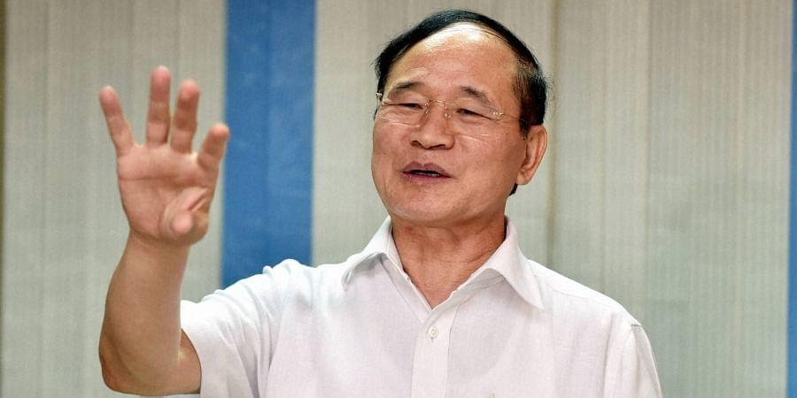 Former Arunachal chief minister Nabam Tuki.