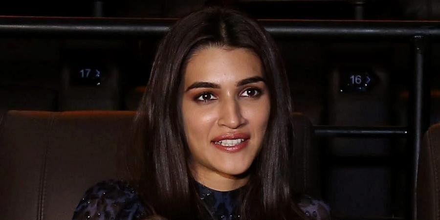 Bollywood actress Kriti Sanon