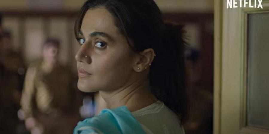 Taapsee Pannu in a still from 'Haseen Dilruba' (Photo   YouTube screengrab)