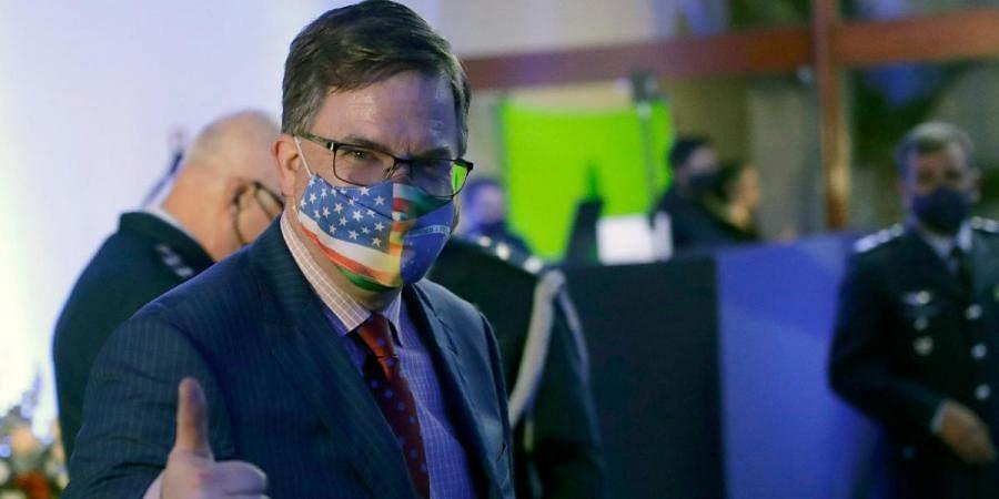 US Ambassador to Brazil Todd Chapman