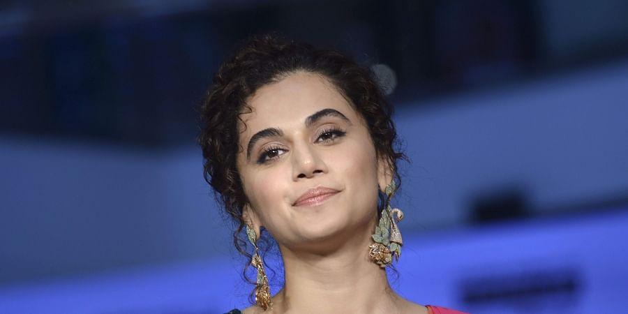 Actress Taapsee Pannu. (Photo   PTI)