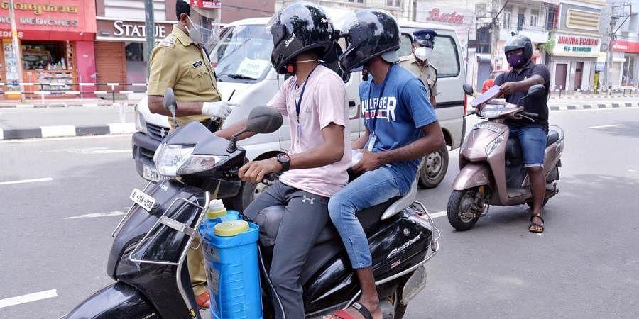 Kerala lockdown, Thiruvananthapuram