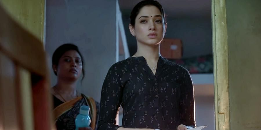 5. November Story (Disney Plus Hotstar): The seven-episode whodunnit, revolves around Ganesan (GM Kumar), a crime novel writer, suffering from Alzheimer's, who lives with his daughter Anuradha (Tamannaah Bhatia), an ethical hacker. On November 16th, Anuradha finds her father in their abandoned house with the dead body of a woman, who has been covered in paint. As the police reach the crime scene, all evidence is pointing at Ganesan, however his daughter claims his innocence and embarks on a journey to unveil the truth.