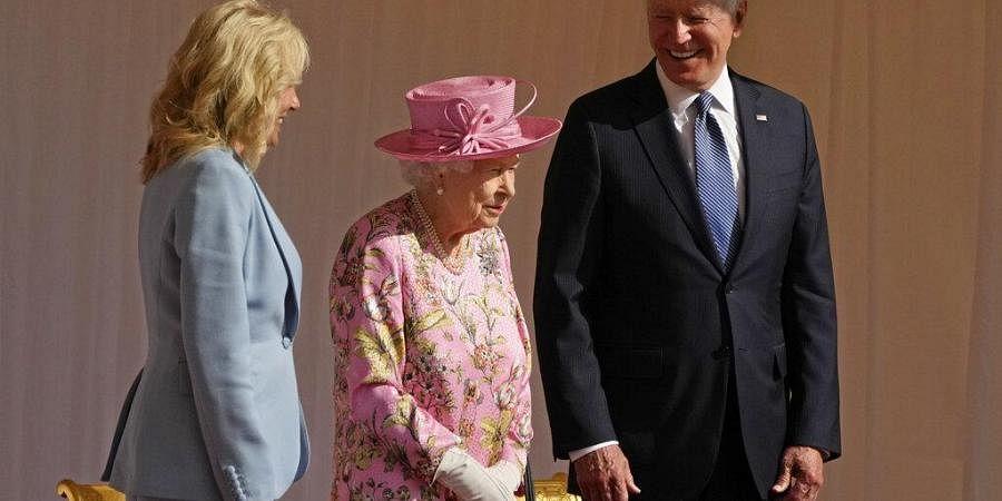 Biden meets queen