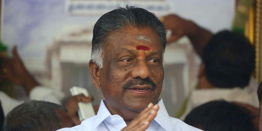 Tamil Nadu Deputy CM  O Panneerselvam