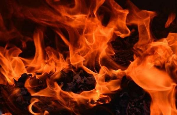 Around 6 people missing after fire at shoe factory in Udyog Nagar