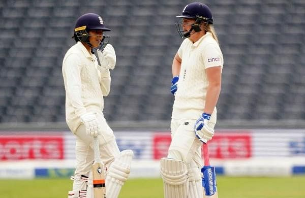 Sophia Dunkley, tailenders frustrate India Women, England take lunch at 357/8