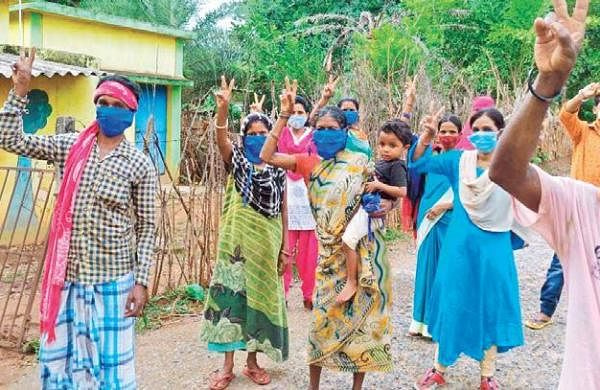 Village with 30% literacy first in Chhattisgarh to have 100% vaccination