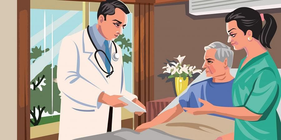 At place with COVID: How pandemic boosted telemedicine and home healthcare services- The New Indian Express