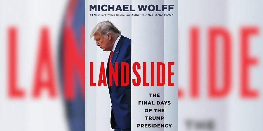 This cover image released by Holt shows 'Landslide: The Final Days of the Trump Presidency' by Michael Wolff.