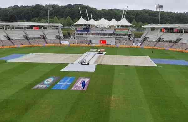 India vs New Zealand WTC Final: First session rained out