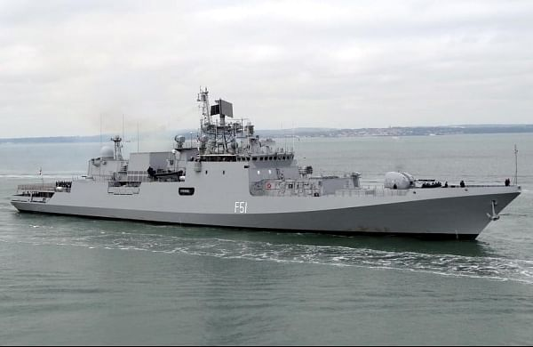 Indian Navy conducts maiden joint exercise with EU Naval Force