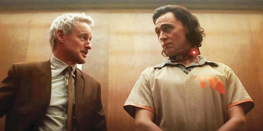 A still from 'Loki' web series
