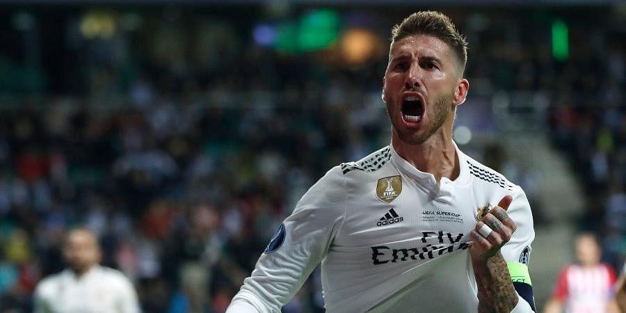 Real Madrid legend Sergio Ramos