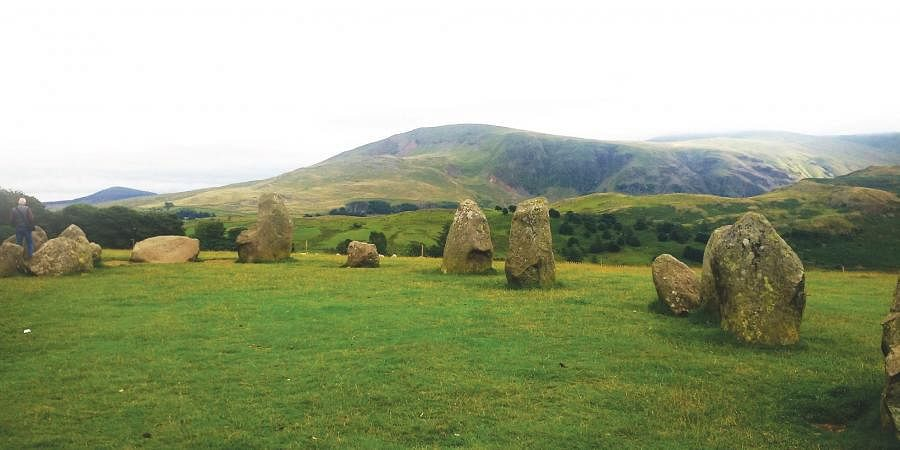 Druid's Circle in England's Lake District