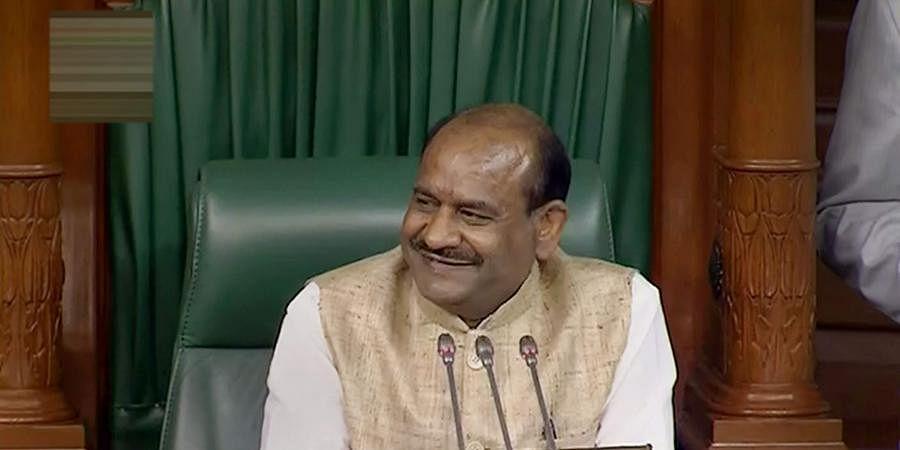 Lok Sabha speaker Om Birla (LSTV Screengrab)