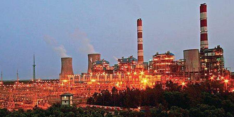 NTPC's thermal power plant in Simhadri, Andhra Pradesh
