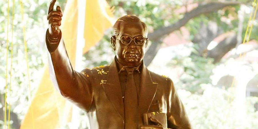 Dr BR Ambedkar statue