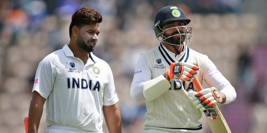 WTC Final: Rishabh Pant soldiers on as India defy New Zealand to reach  130/5 at lunch- The New Indian Express