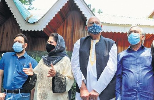 PM Modi's meeting with 14 Jammu and Kashmir leaders begins in New Delhi